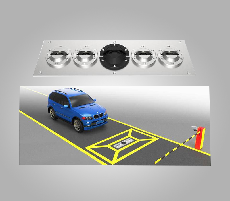 Permanent Underground Vehicle Scanning System